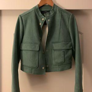 Zara suede midi Jacket